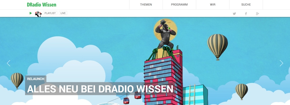 DRadio Wissen Screenshot
